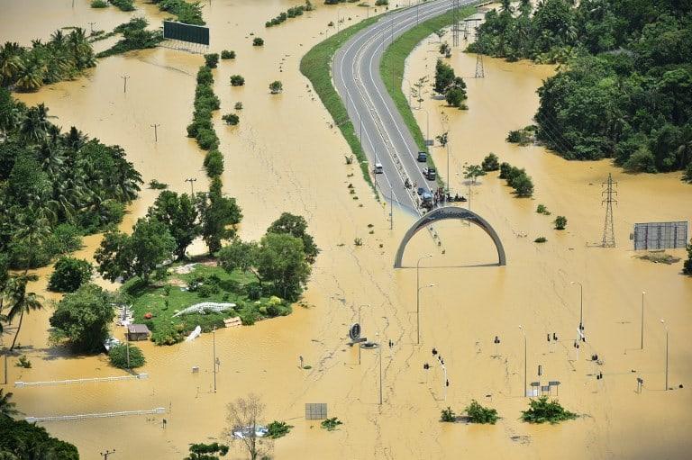 Inundación en Sri Lanka. Pulzo.com