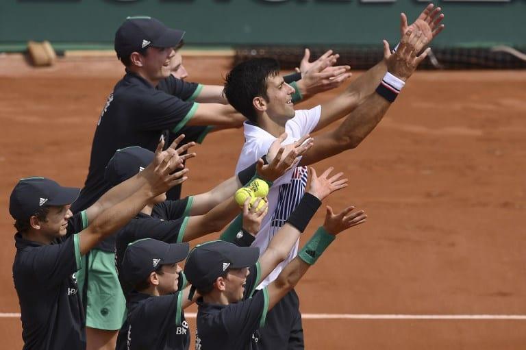 Novak Djokovic en el Roland Garros. Pulzo.com