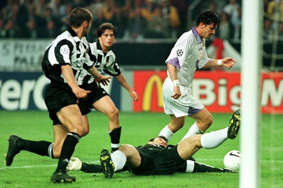 Final de la Champions 98 entre Real Madrid y Juventus