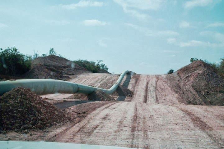 Gasoducto en La Guajira