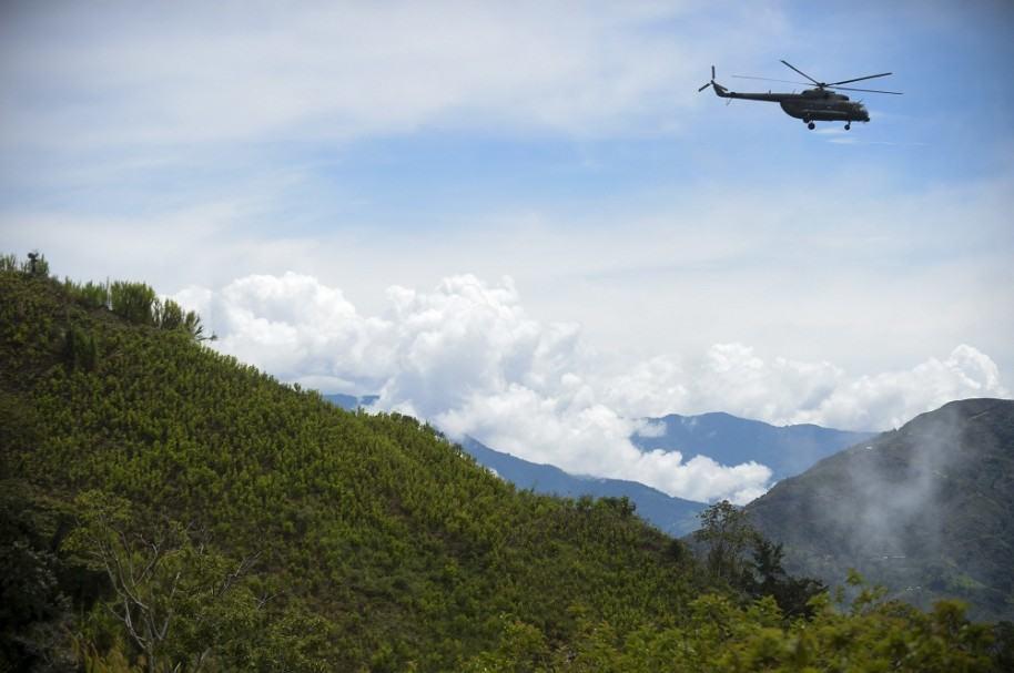 Helicóptero del Ejército de Colombia