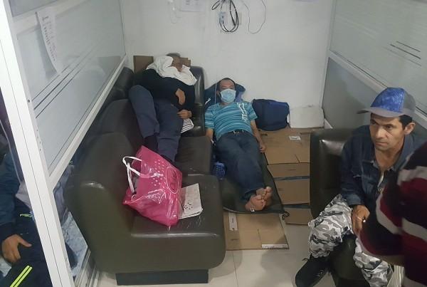 Hacinamiento en hospitales de Bogotá