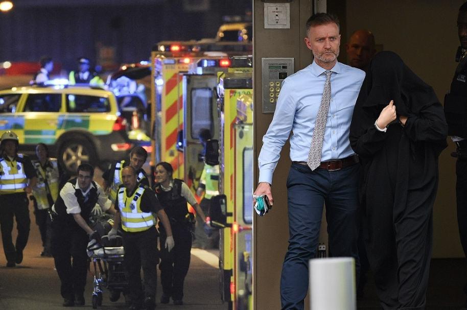 Capturas por atentados terroristas en Londres