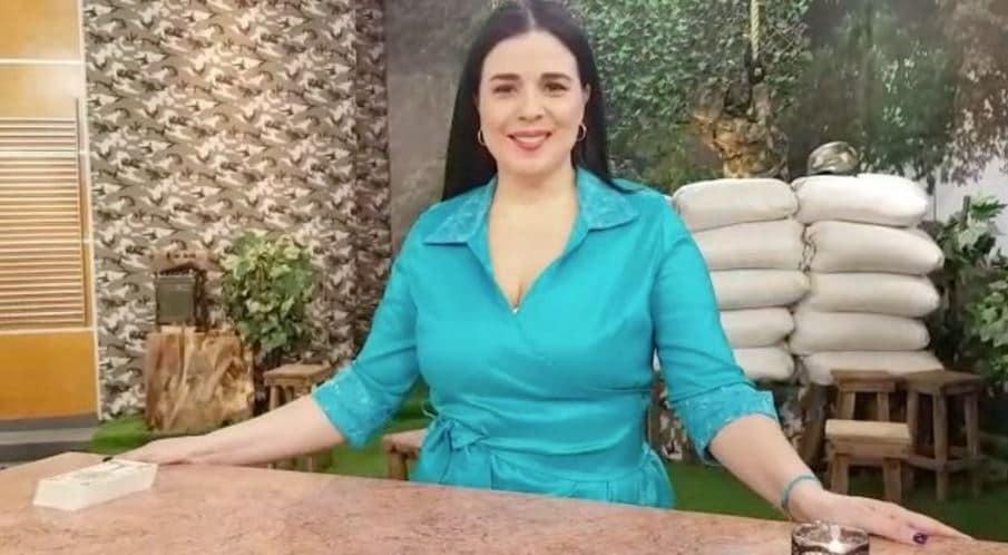 Jannín Farías, astróloga de 'Muy buenos días'.
