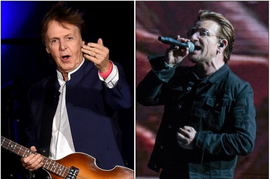 Paul McCartney y Bono