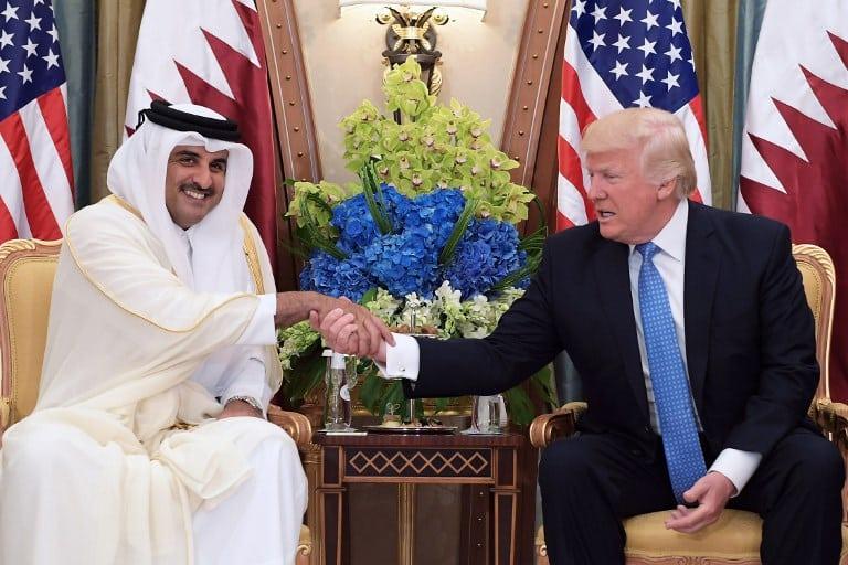 Donald Trump y el emir de Catar