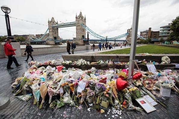 Homenaje después de atentado en Londres