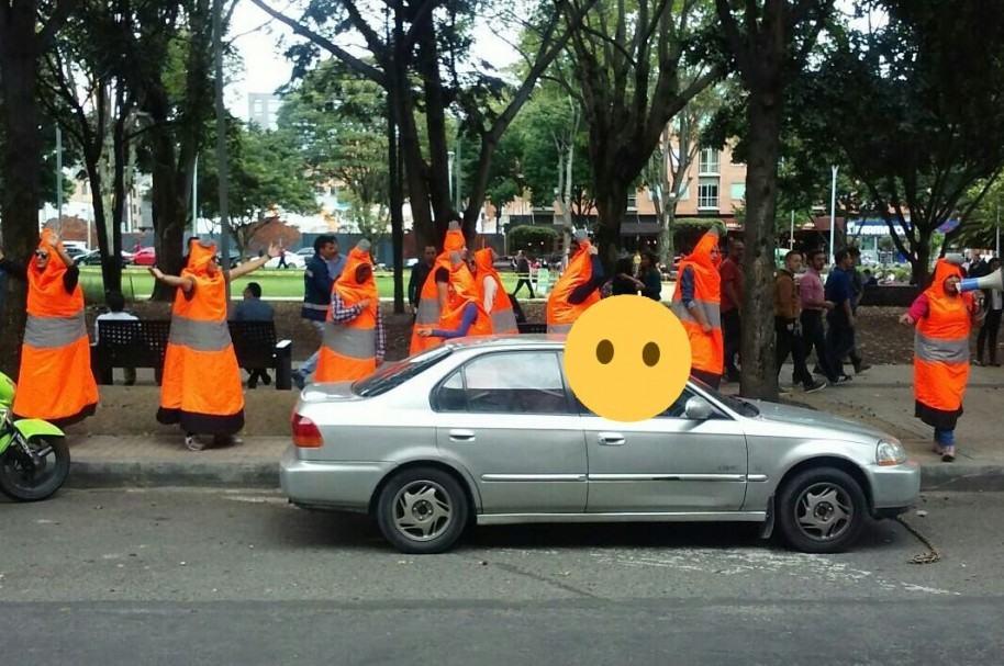 Campaña 'El poder del cono' en Bogotá
