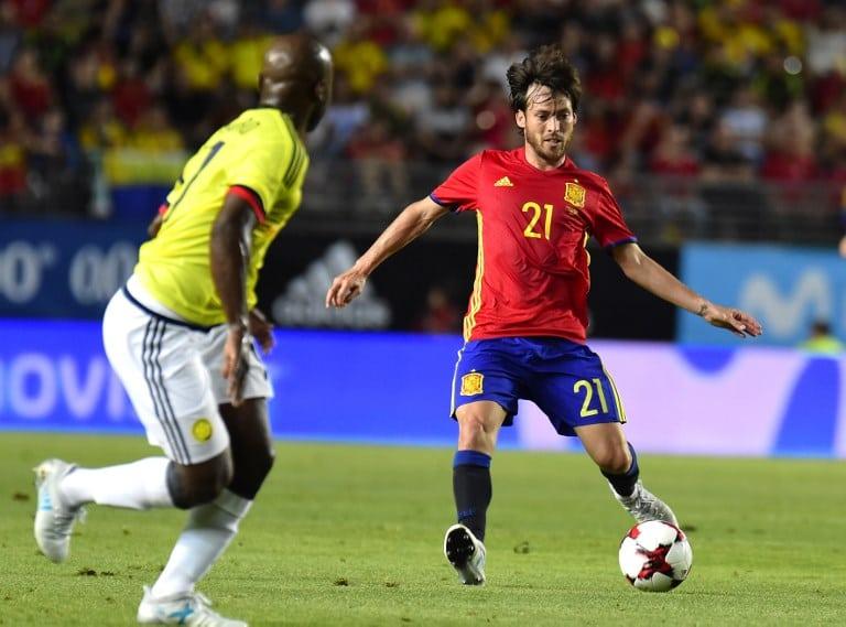 España vs. Colombia