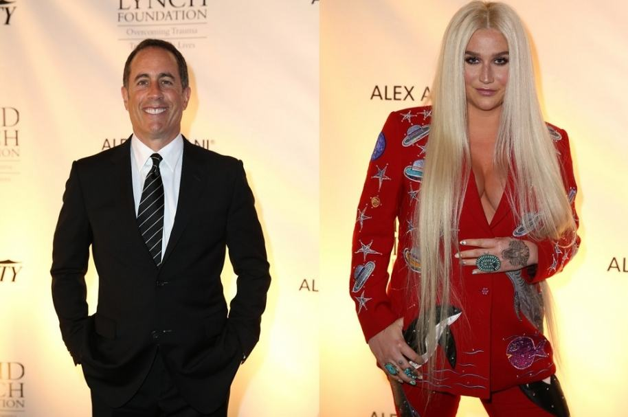 Jerry Seinfeld y Kesha - Pulzo.com