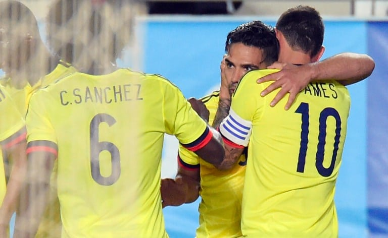 Gol de Falcao a España