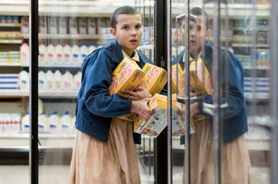 Eleven, personaje de 'Stranger Things'. Pulzo.com