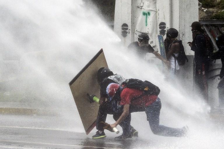 Represión en Venezuela