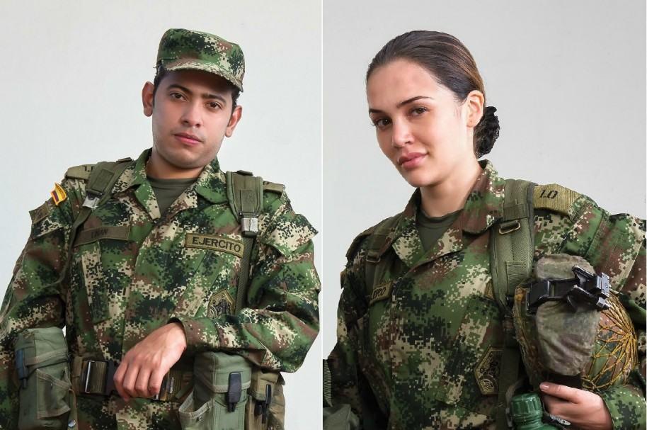 Orlando Liñán y Lina Tejeiro actores