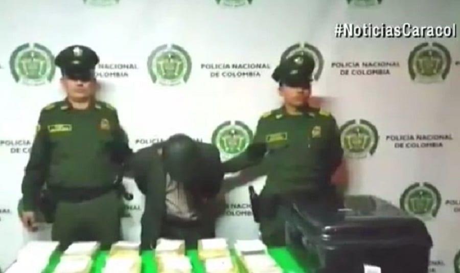 Abuelito capturado con droga en el aeropuerto El Dorado