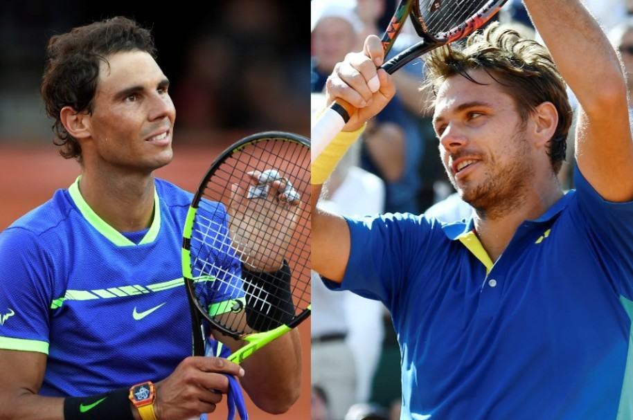 Nadal y Wawrinka