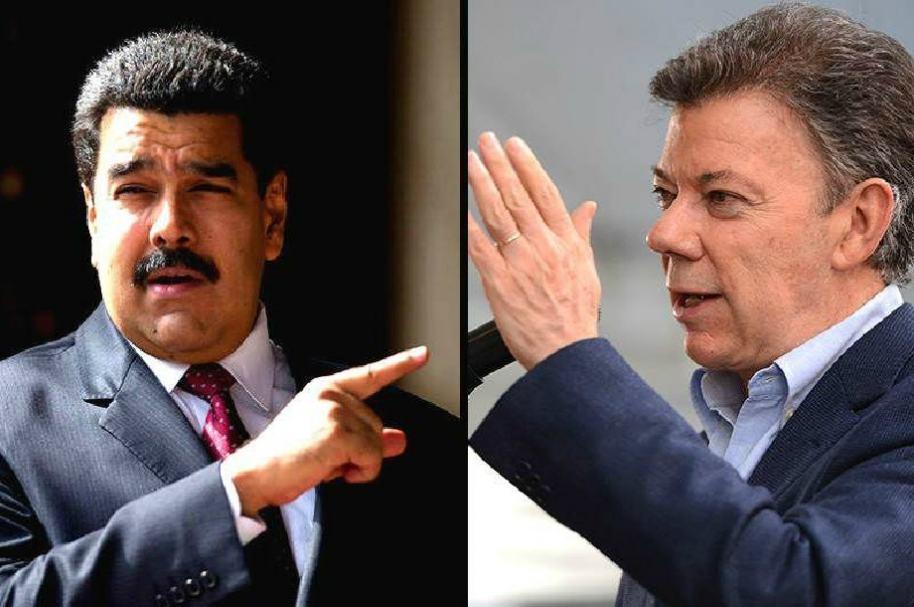 Indirectas entre Santos y Maduro