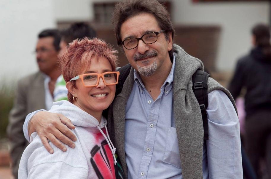 Yaneth Waldman y su futuro esposo, el fotógrafo italiano Claudio Pierri. Pulzo.com