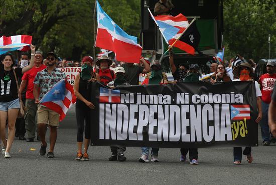 Marchas en Puerto Rico