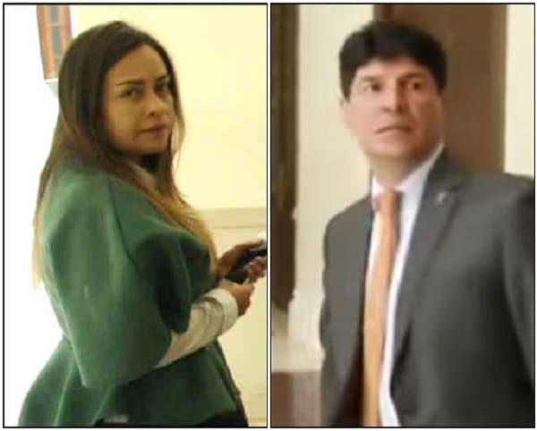 Piedad Constanza Martínez y Saúl Cruz
