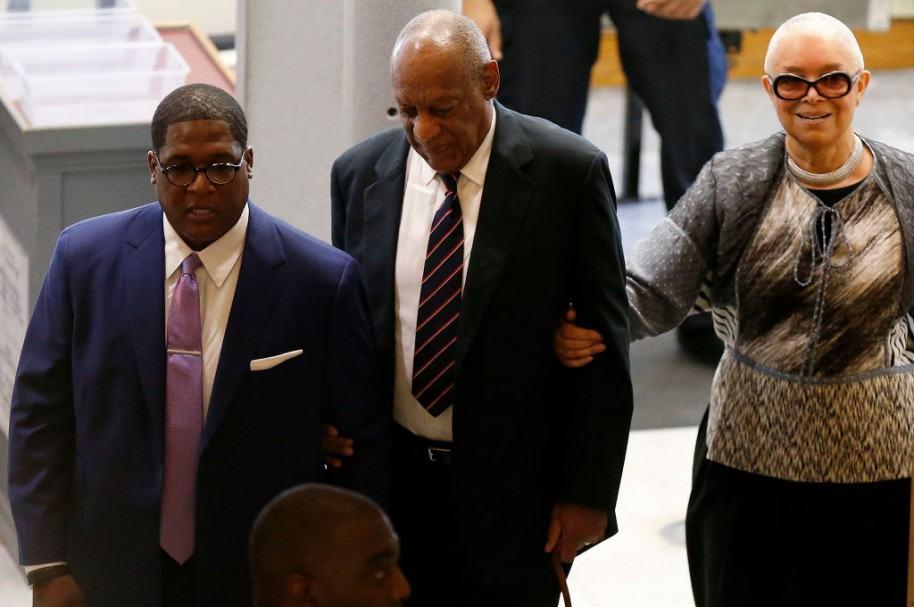 Bill Cosby y su esposa, Camille Cosby