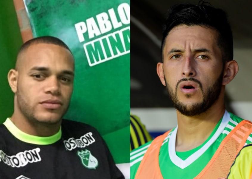 Pablo Mina y Camilo Vargas