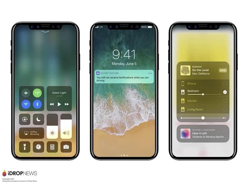 iPhone 8 con iOS 11