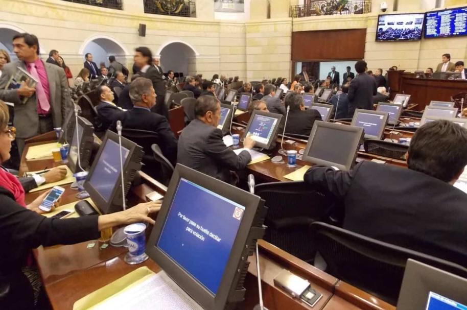 Recinto del Senado. Imagen de referencia