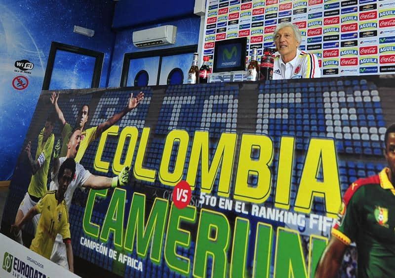 El seleccionador de Colombia José Néstor Pékerman