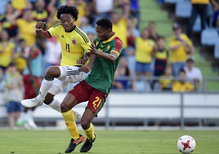 Colombia 4-0 Camerún