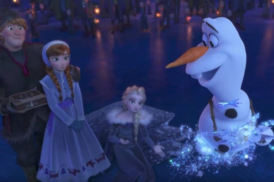 Tráiler de Olaf's Frozen Adventure.