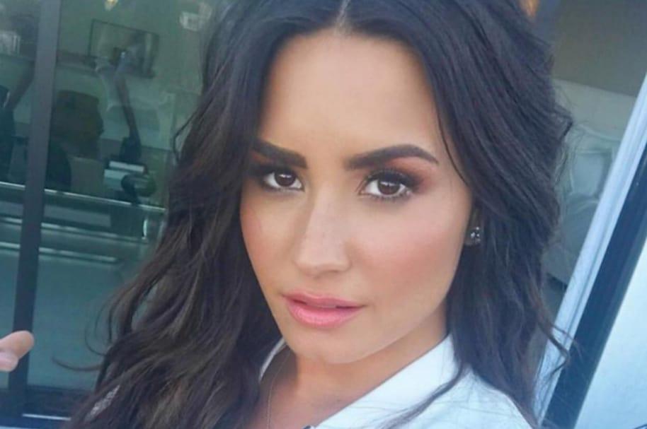 Demi Lovato, cantante estadounidense.