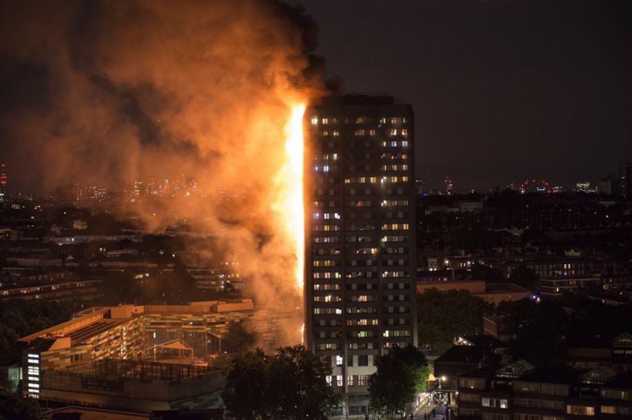 Fuego en la torre Grenfell