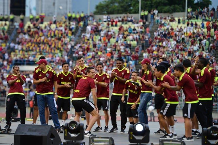 Bienvenida a selección de fútbol Sub-20 de Venezuela