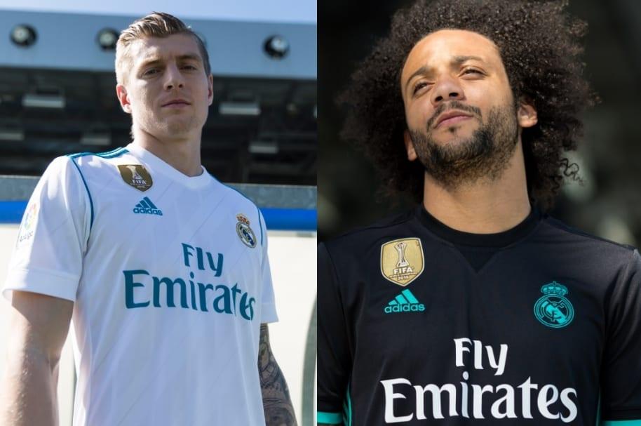 Nuevo uniforme de Real Madrid