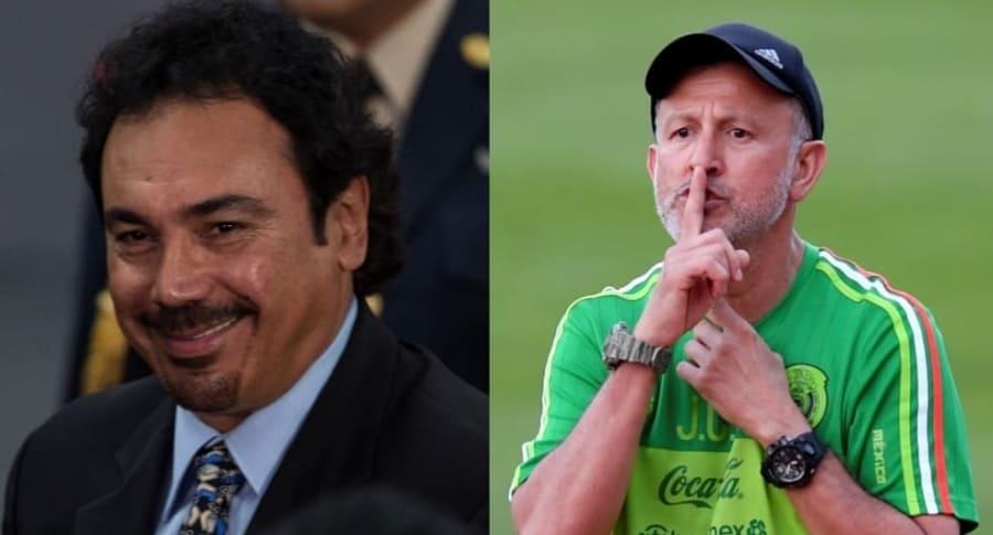 Hugo Sanchez y Juan Carlos Osorio