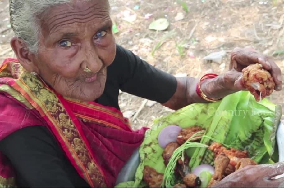 Mastanamma, 'youtuber' de 106 años.