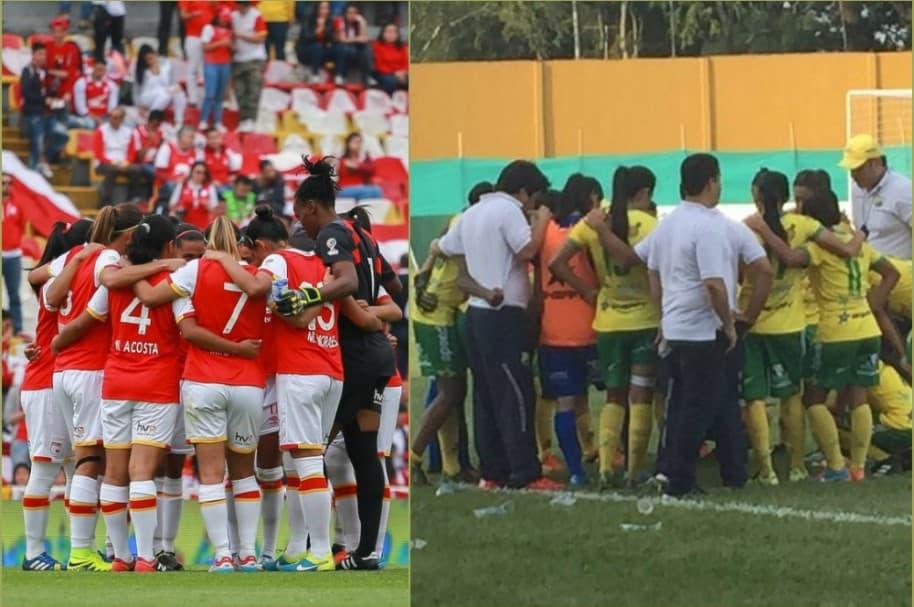 Atlético Huila vs Independiente Santa Fe