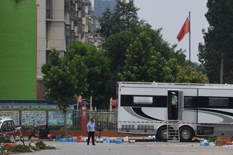 Explosión en kindergarten chino
