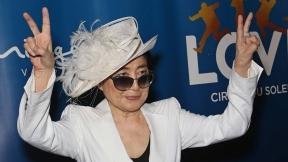Yoko Ono, viuda y colaboradora artística de John Lennon.