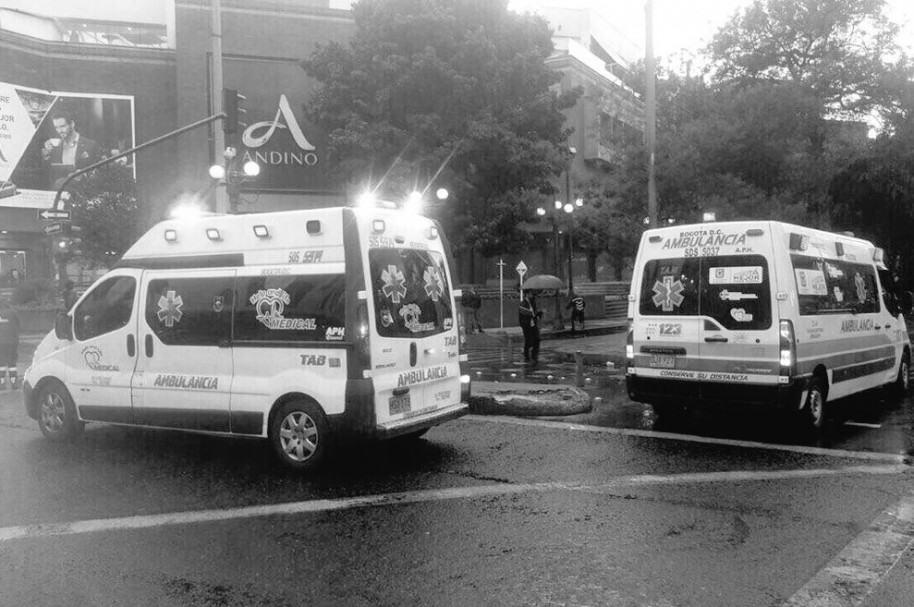 Ambulancias en Centro Andino