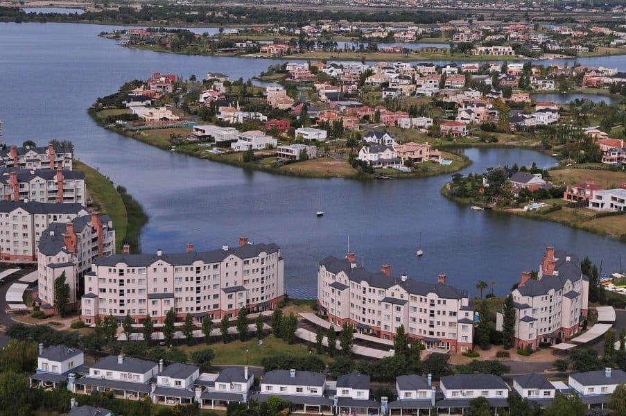 Vista aérea de Nordelta