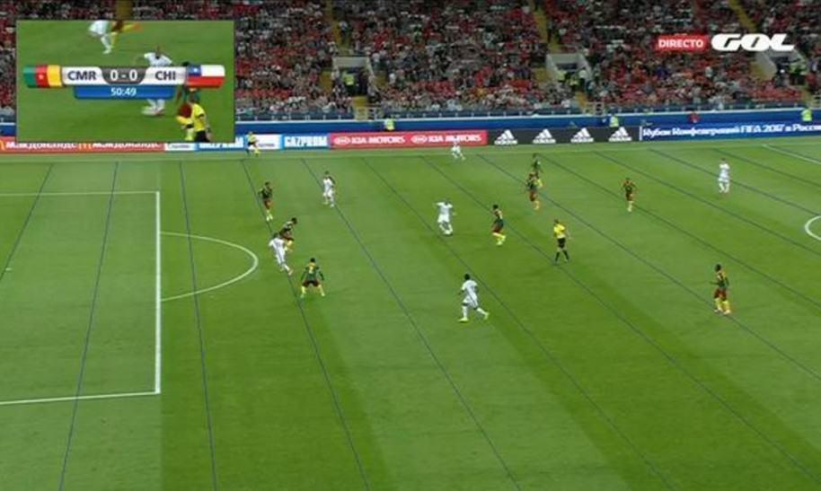 Videoarbitraje Chile vs. Camerún