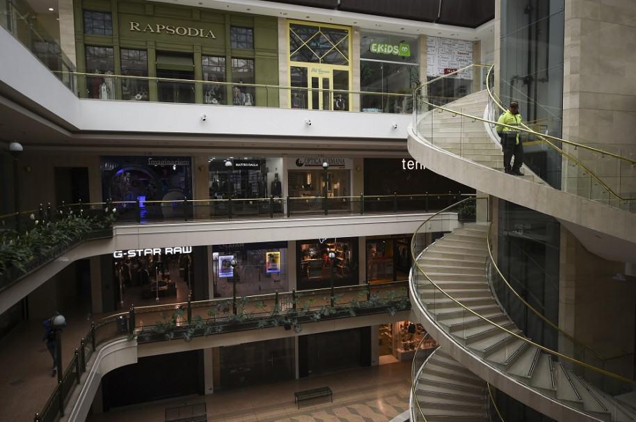 Centro Comercial Andino, un día después del atentado