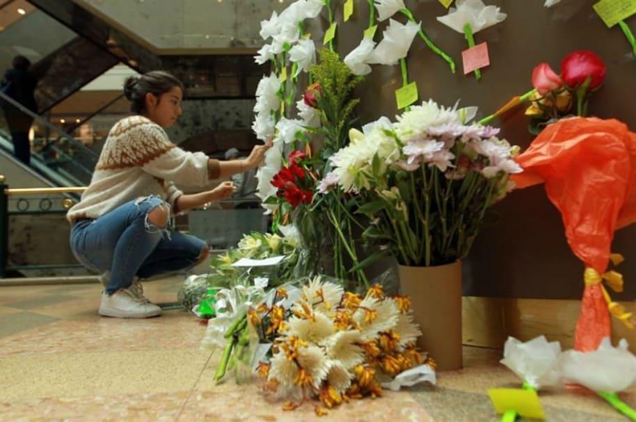 Homenaje a víctimas de atentado en Andino.