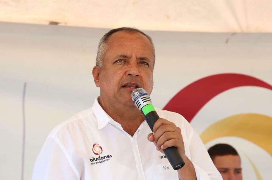 Óscar Barreto, gobernador del Tolima