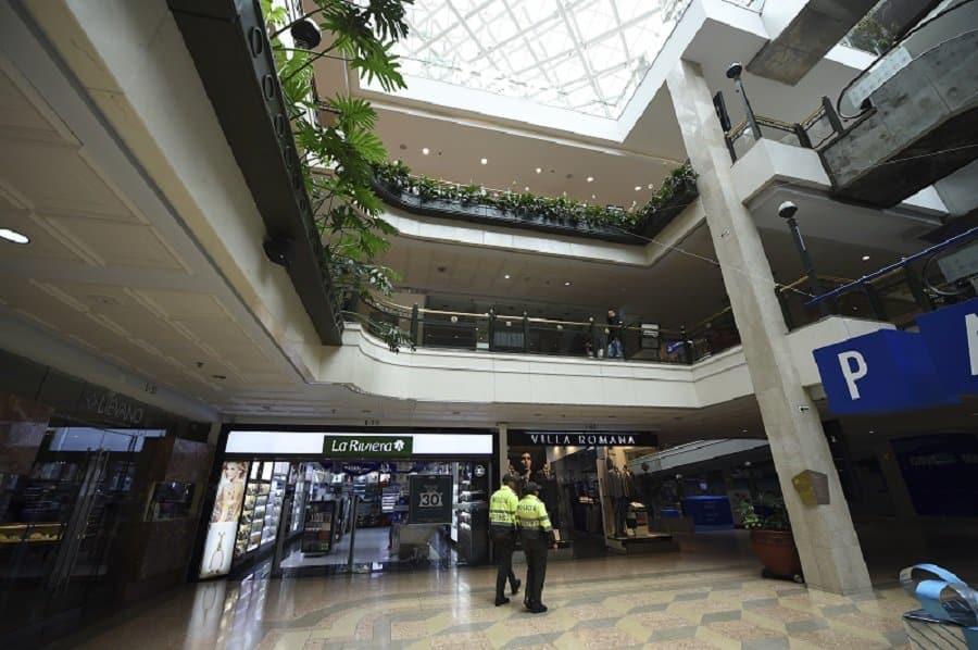 Centro comercial Andino, lugar de atentado terrorista