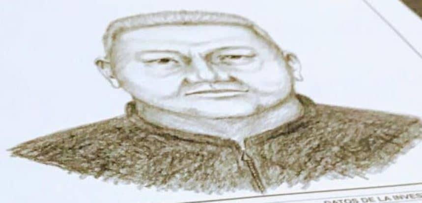 Retrato hablado del segundo sospechoso