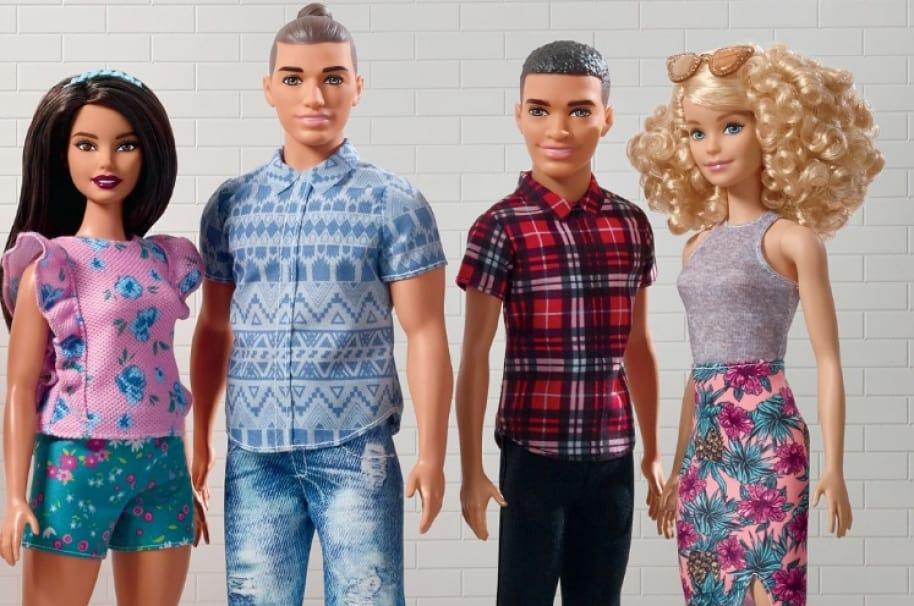 Nuevos muñecos Ken