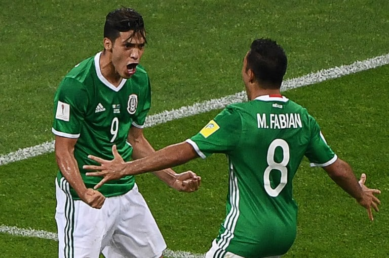 México celebra gol